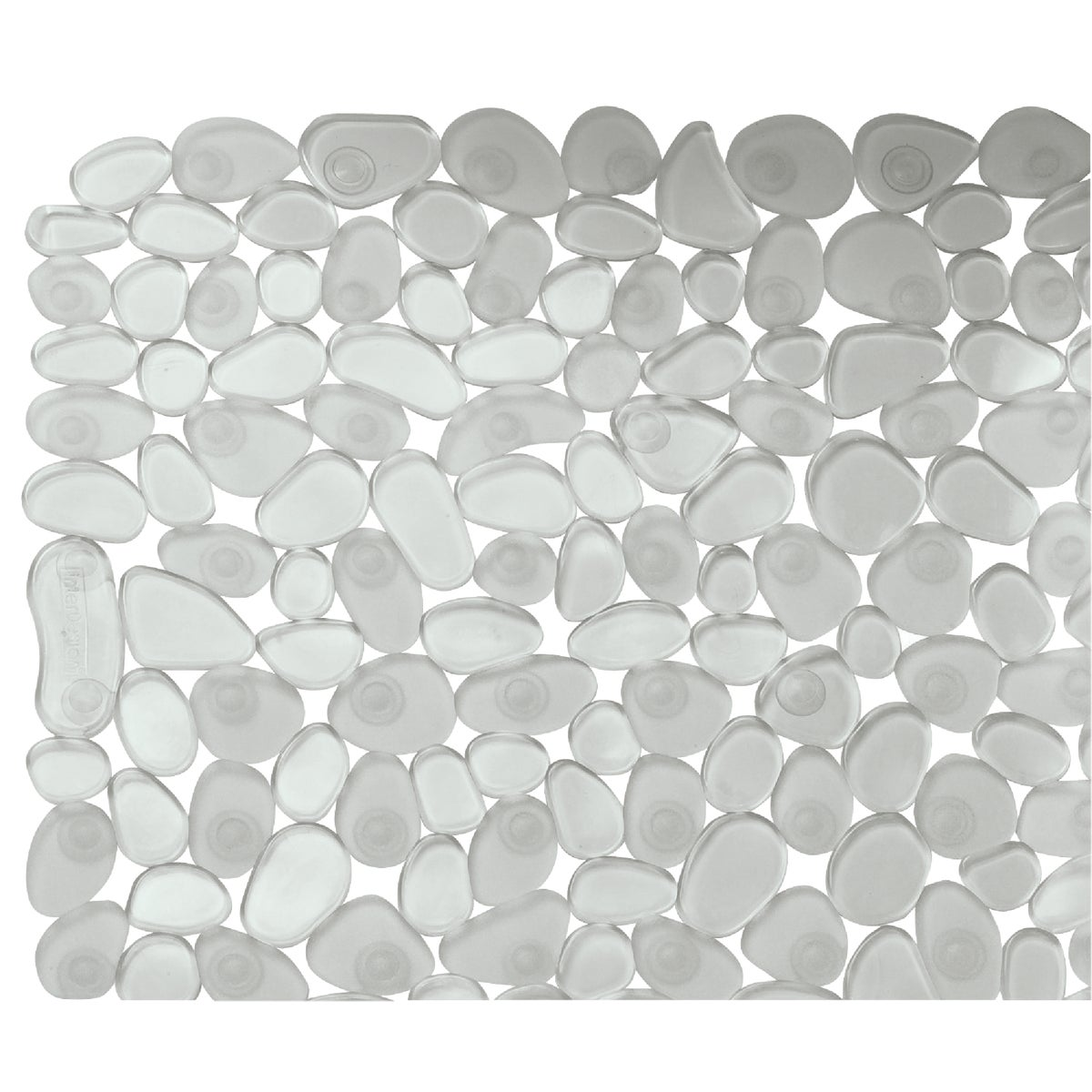 CLEAR PEBBLZ BATH MAT