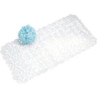 Interdesign CLEAR PEBBLZ BATH MAT 80010