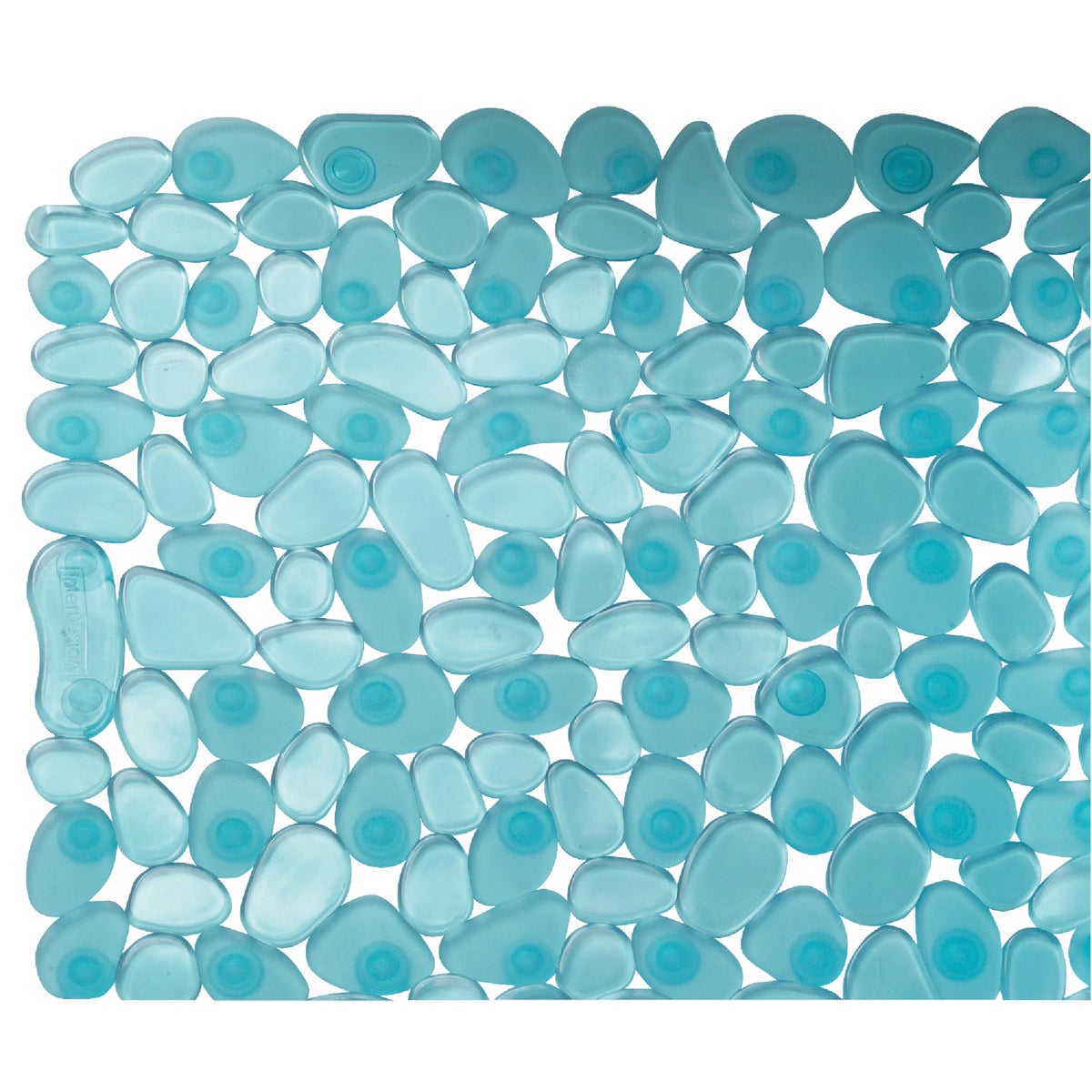 BLUE PEBBLZ BATH MAT - 80011 by Interdesign Inc