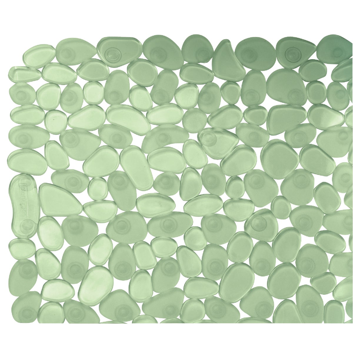 GREEN PEBBLZ BATH MAT
