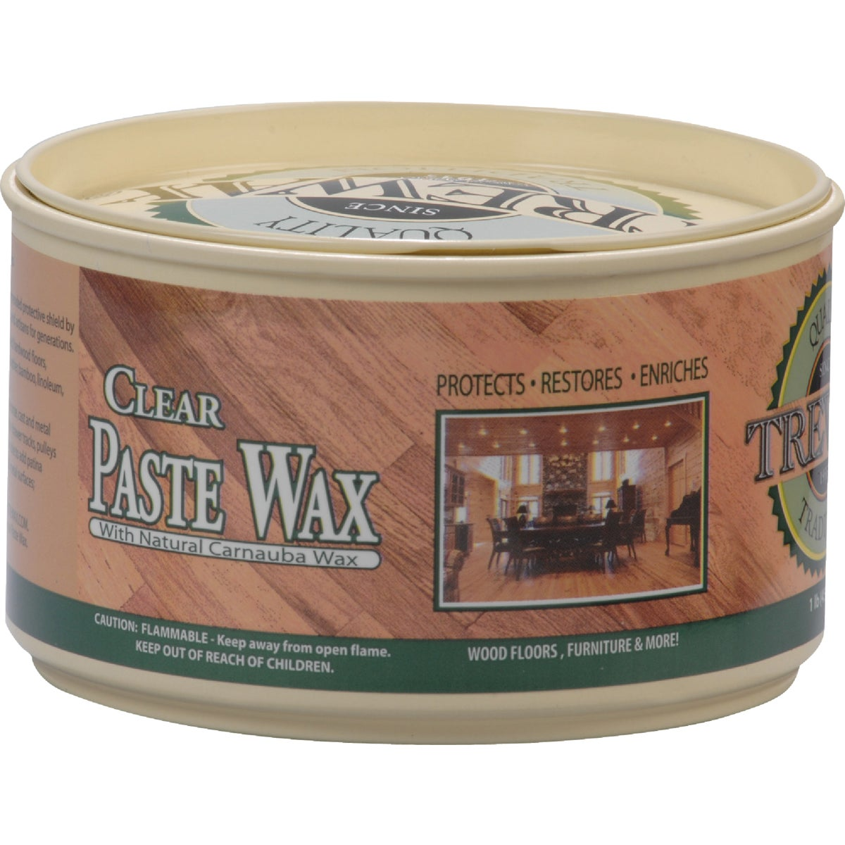 12.35OZ CLEAR PASTE WAX - 887101016 by Beaumont Products