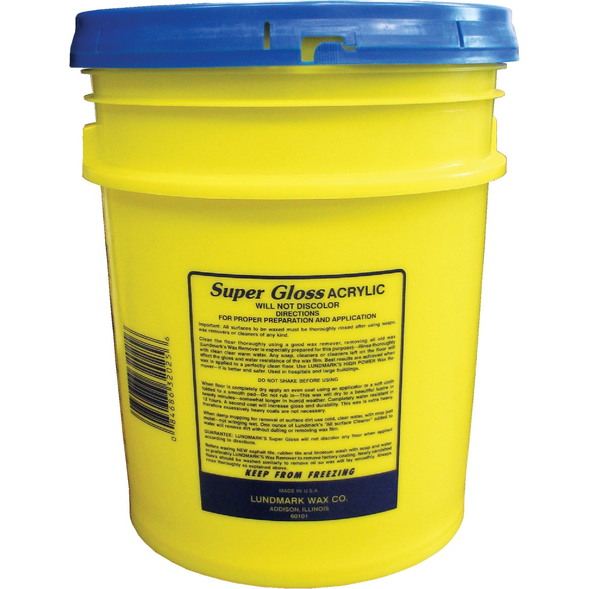 5GAL SUPER GLOSS - 3202G05 by Lundmark Wax Co