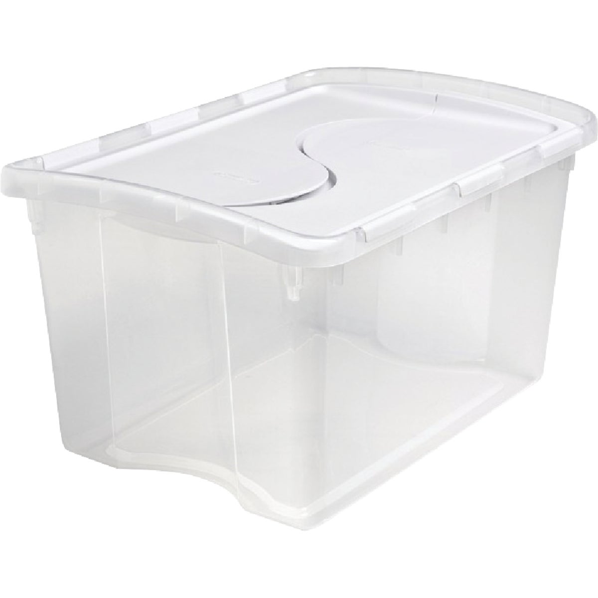 48QT HINGED STORAGE BOX