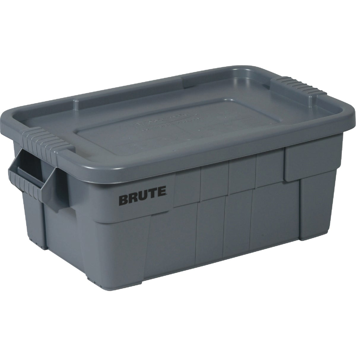 14GAL GRAY BRUTE TOTE - FG9S3000GRAY by Rubbermaid Comm Prod