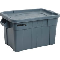 Rubbermaid Commercial Brute Storage Tote with Lid, 1836781