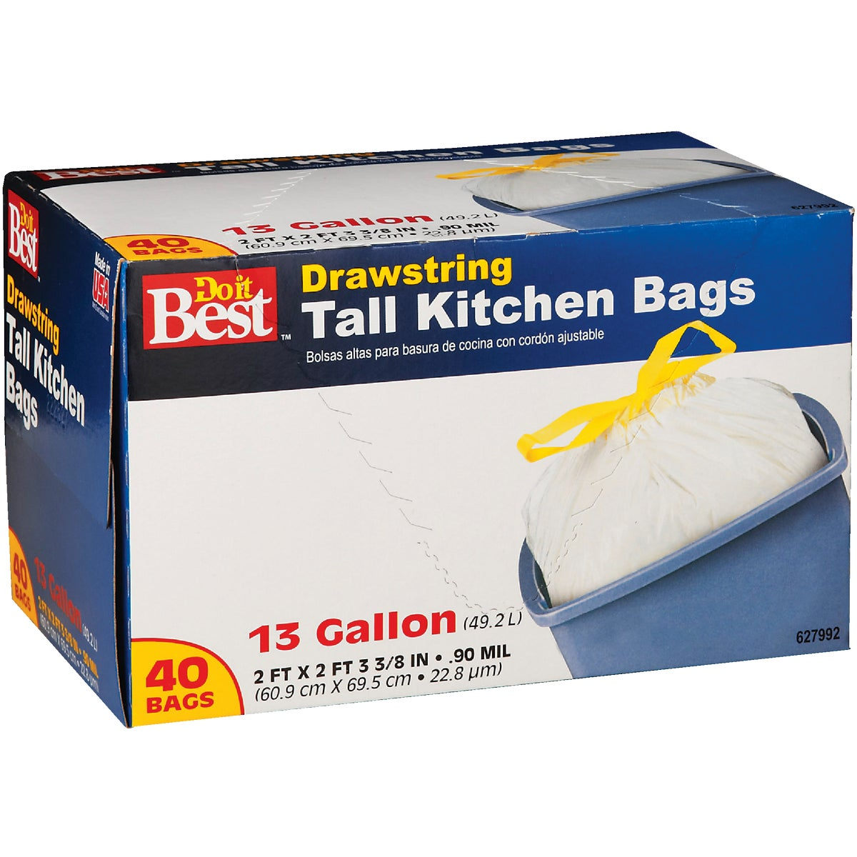 40CT 13GAL KITCHEN BAG - 627992 by Presto Products