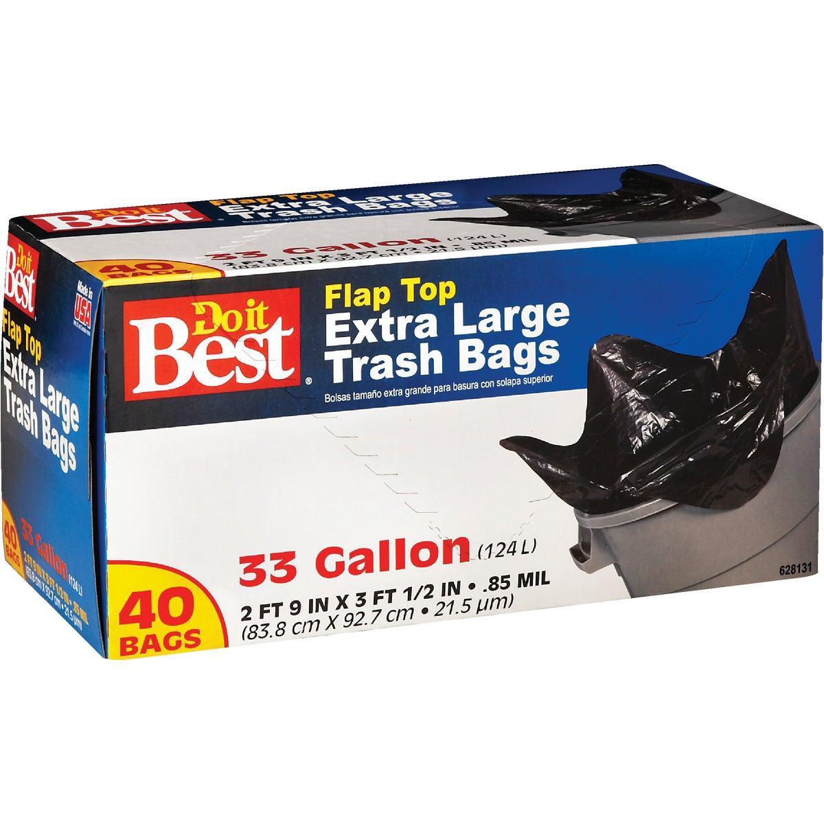 40CT 33GAL TRASH BAG
