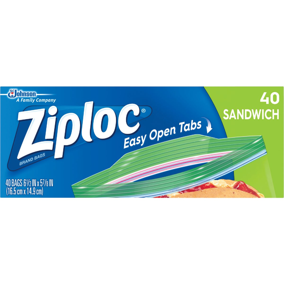ZIPLOC SANDWICH BAG - 00390 by Sc Johnson