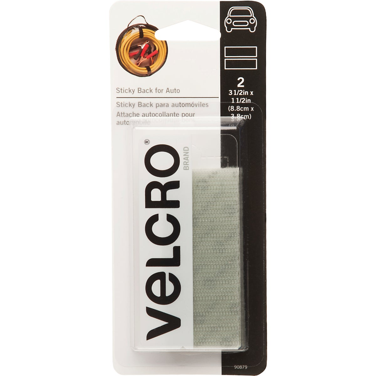 "3-1/2"" ADHESIVE FASTENER - 90879 by Velcro Usa"