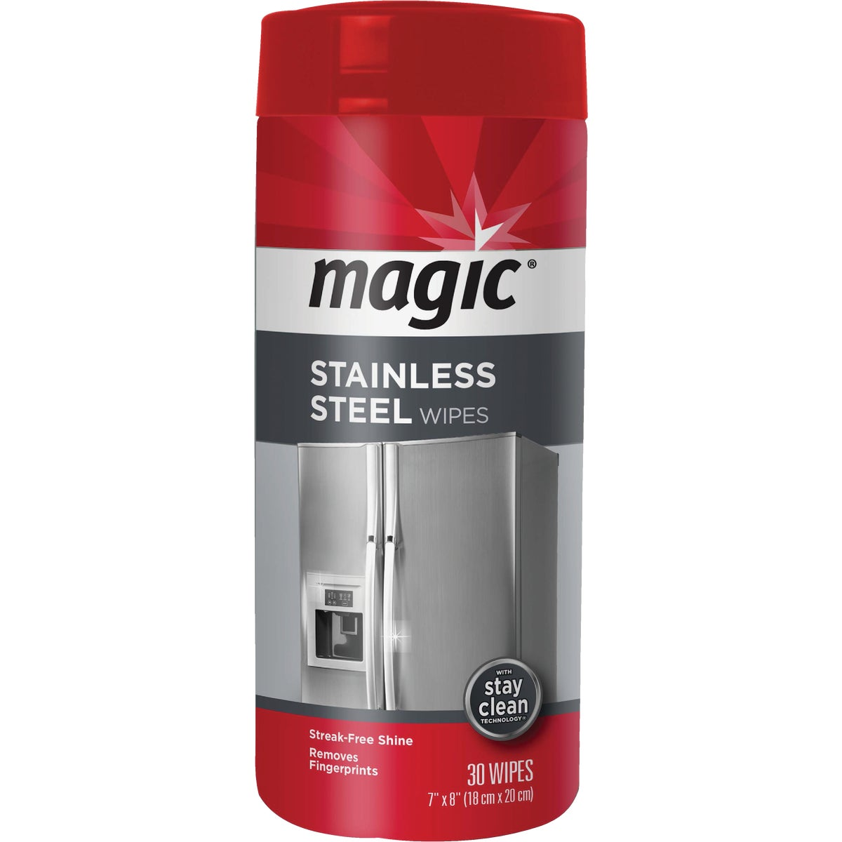 30CT STNLS STEEL WIPES - 1858 by Magic Ntrl Magic Sci