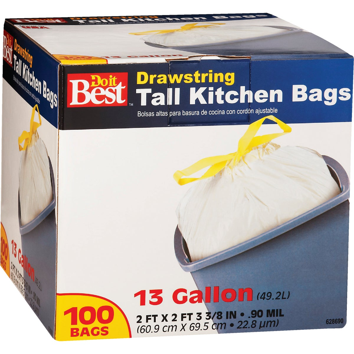 100CT 13GAL KITCHEN BAG - 628690 by Presto Products