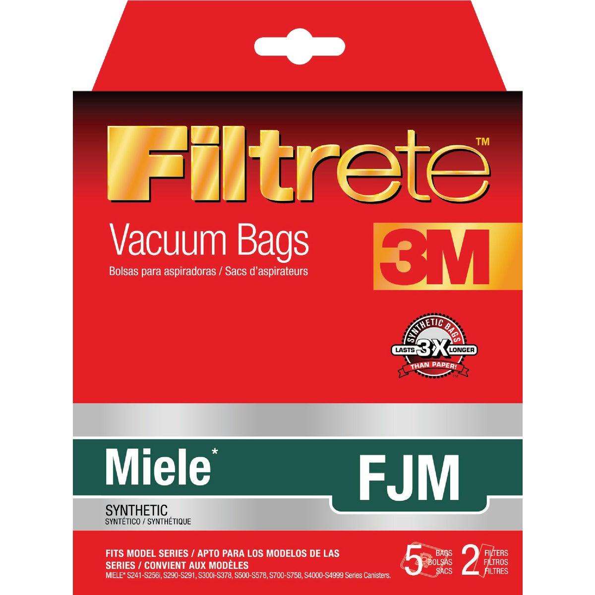 MIELE FJM VACUUM BAG - 68704-2 by Electrolux Home Care