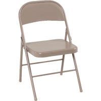 Cosco Home & Office ANTQ LINEN METAL CHAIR 14-711-ANT4