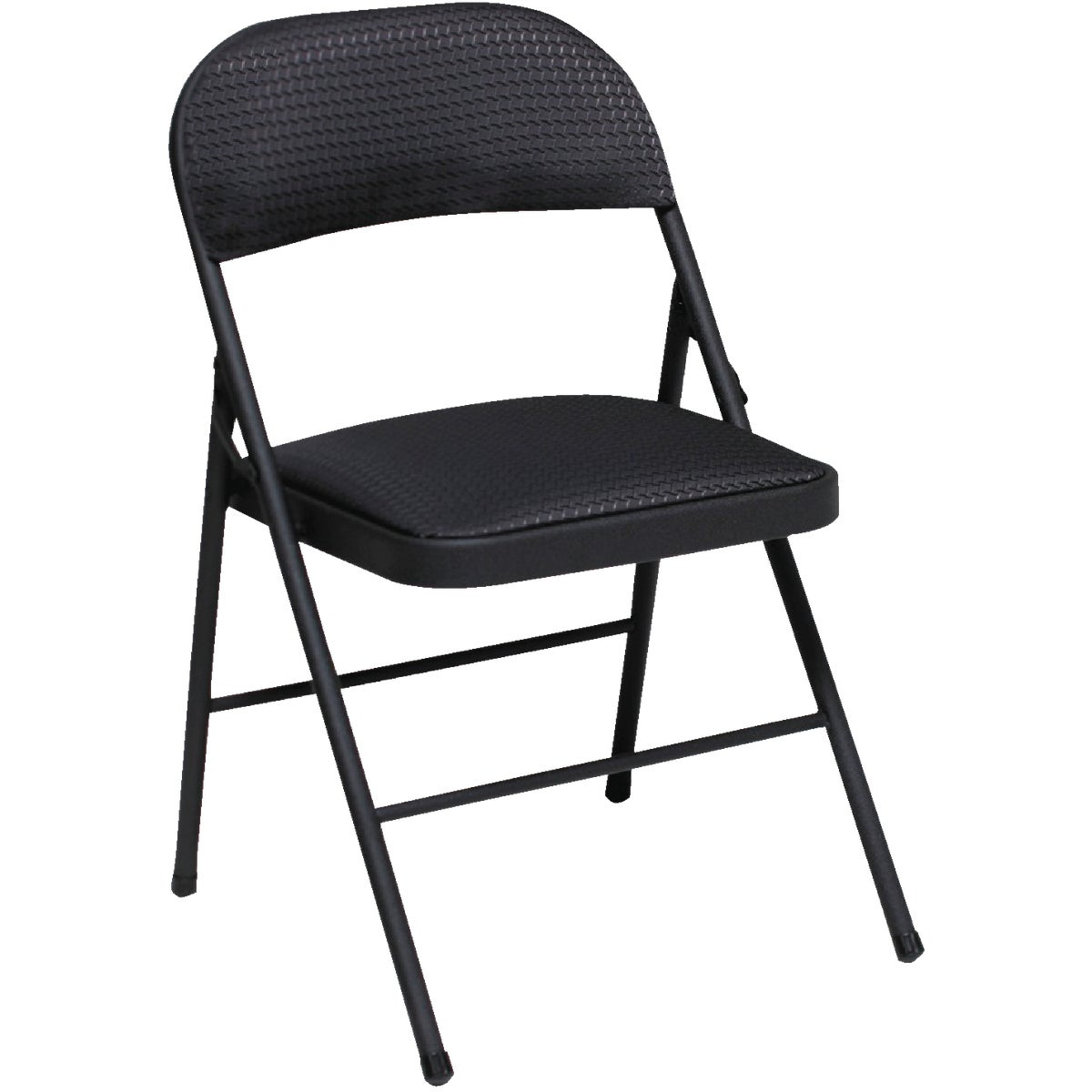 Cosco Home & Office BLK FABRIC FOLDING CHAIR 14-995-TMS4