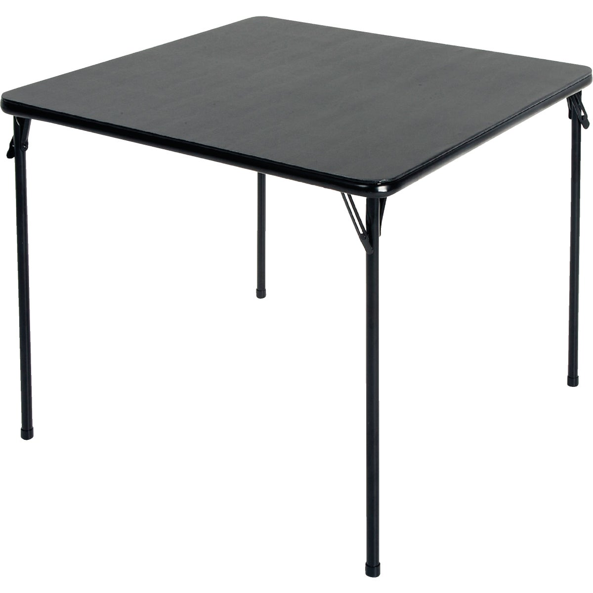 BLACK SQ FOLDING TABLE - 14-619-BLK2 by Cosco    J Myalls
