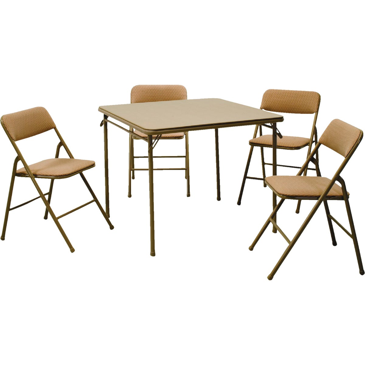 Cosco Import FOLDING TABLE/CHAIR SET 14-551-WHD