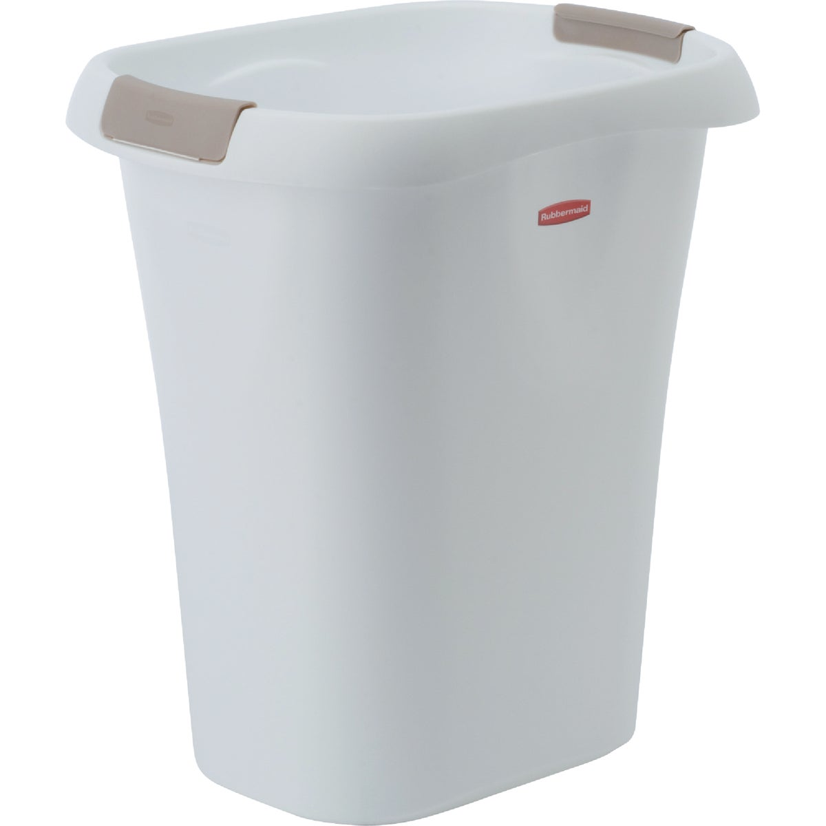 21QT WHITE WASTEBASKET - FG5L6100WHT by Rubbermaid Home