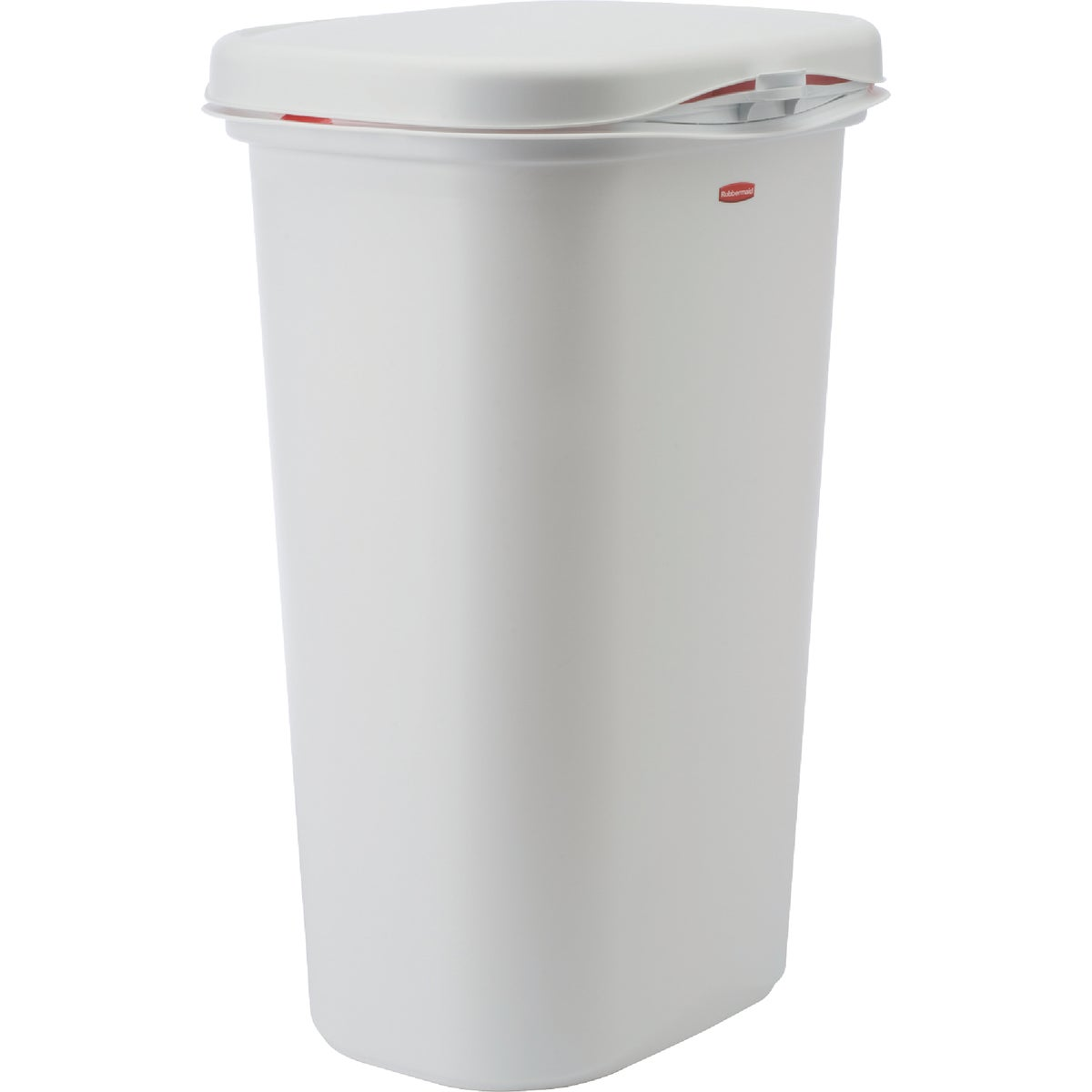 52QT WASTEBASKET W/LID - FG5L5800WHT by Rubbermaid Home
