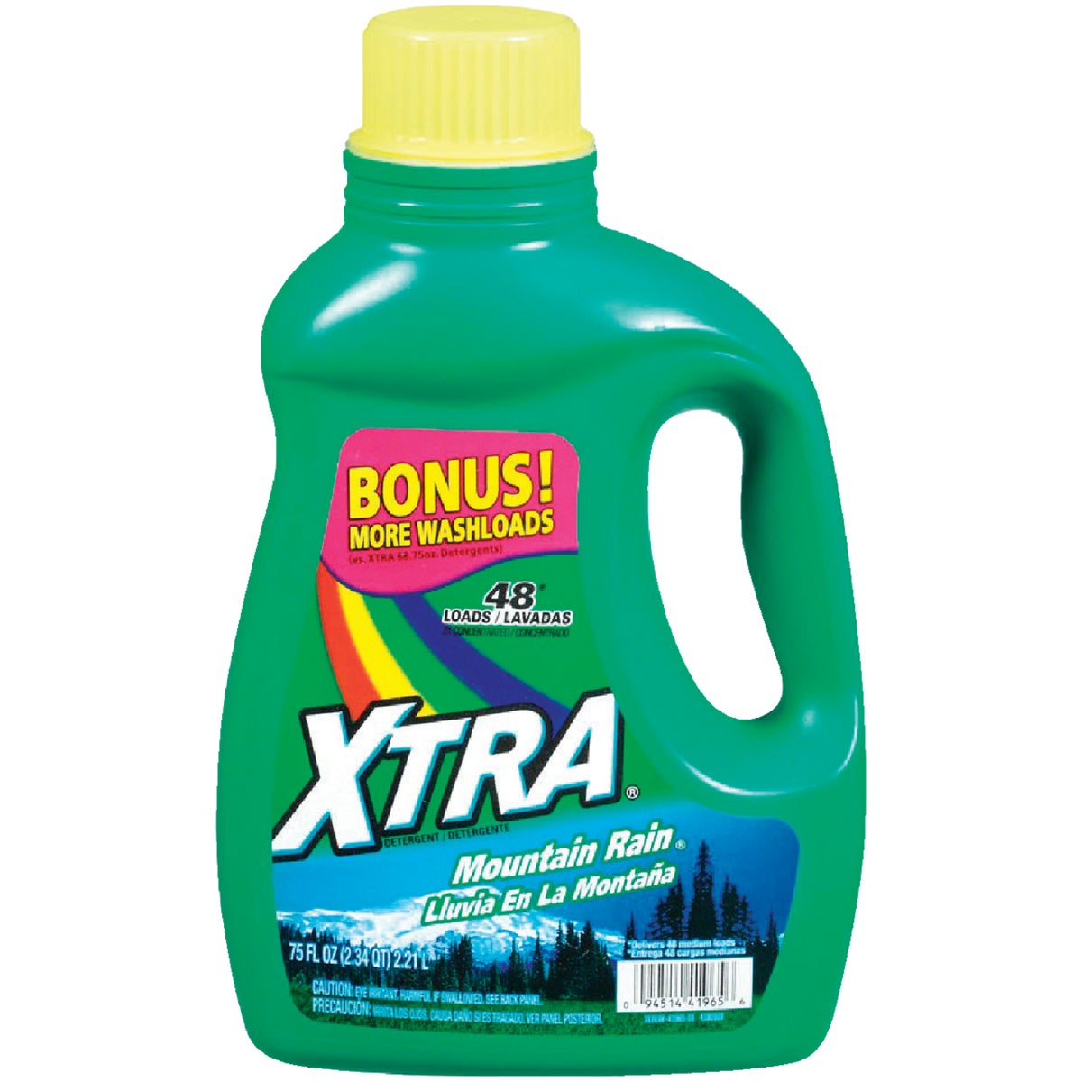 XTRA 2X Concentrated Liquid Laundry Detergent, 41965