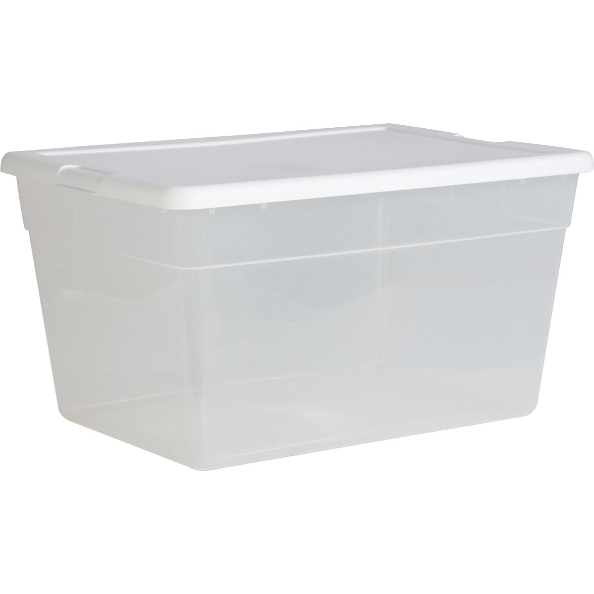 56QT CLEAR STORAGE BOX