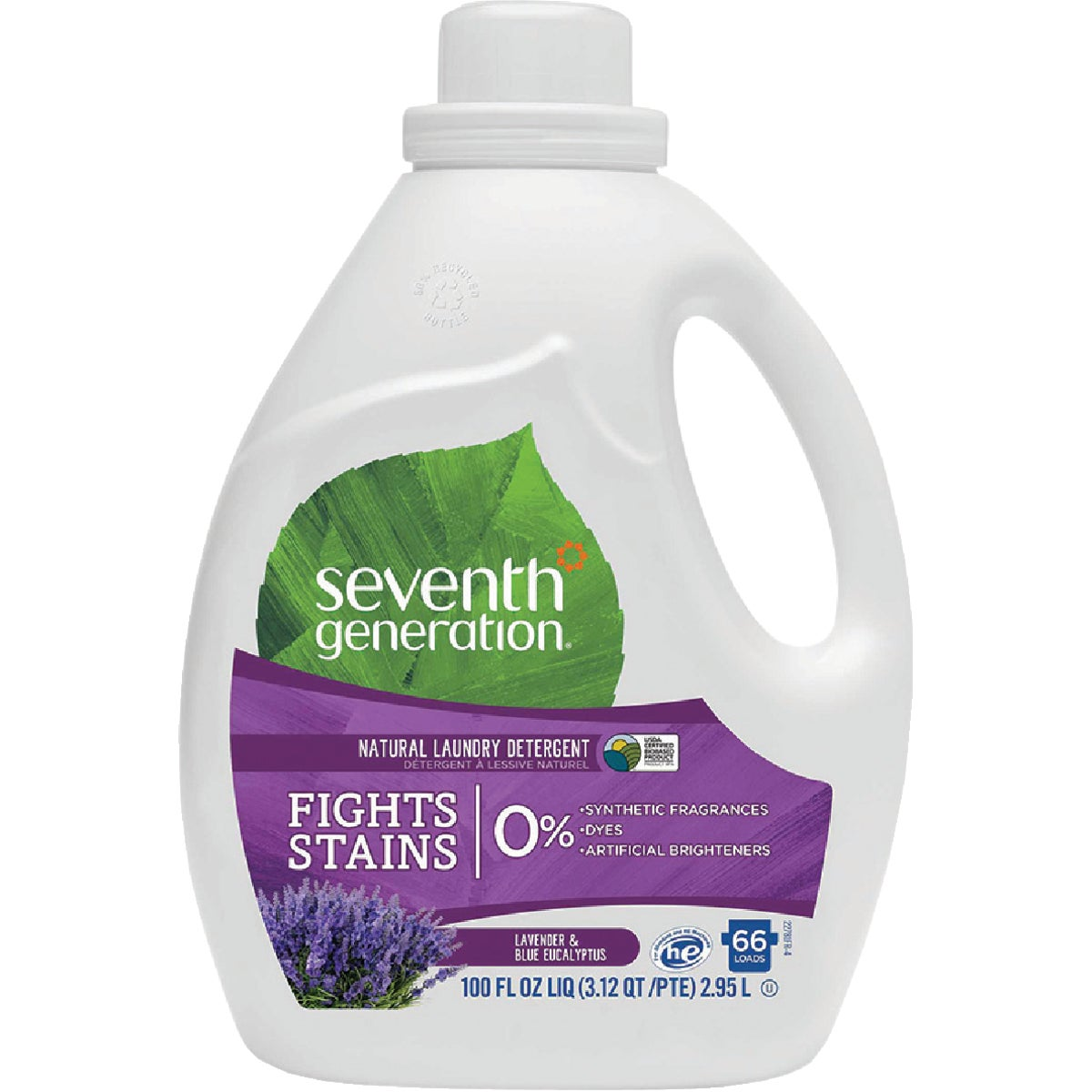 Seventh Generation Natural 2X Concentrated Laundry Detergent, 10732913227812