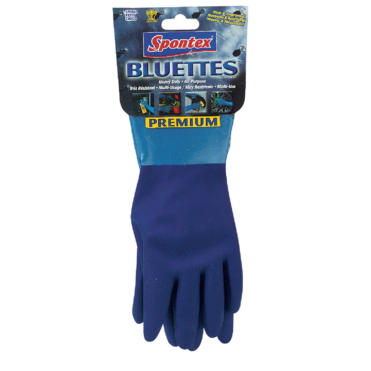 MEDIUM RUBBER GLOVES - 18005 by Lehigh Spontex