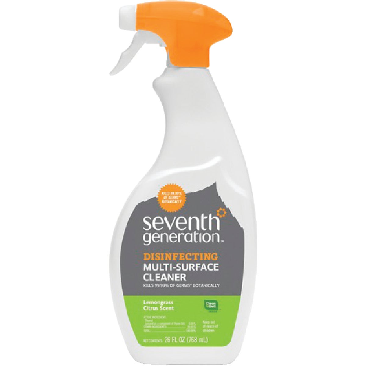 26OZ MULTI-SURFC CLEANER - 10732913228109 by Seventh Generation