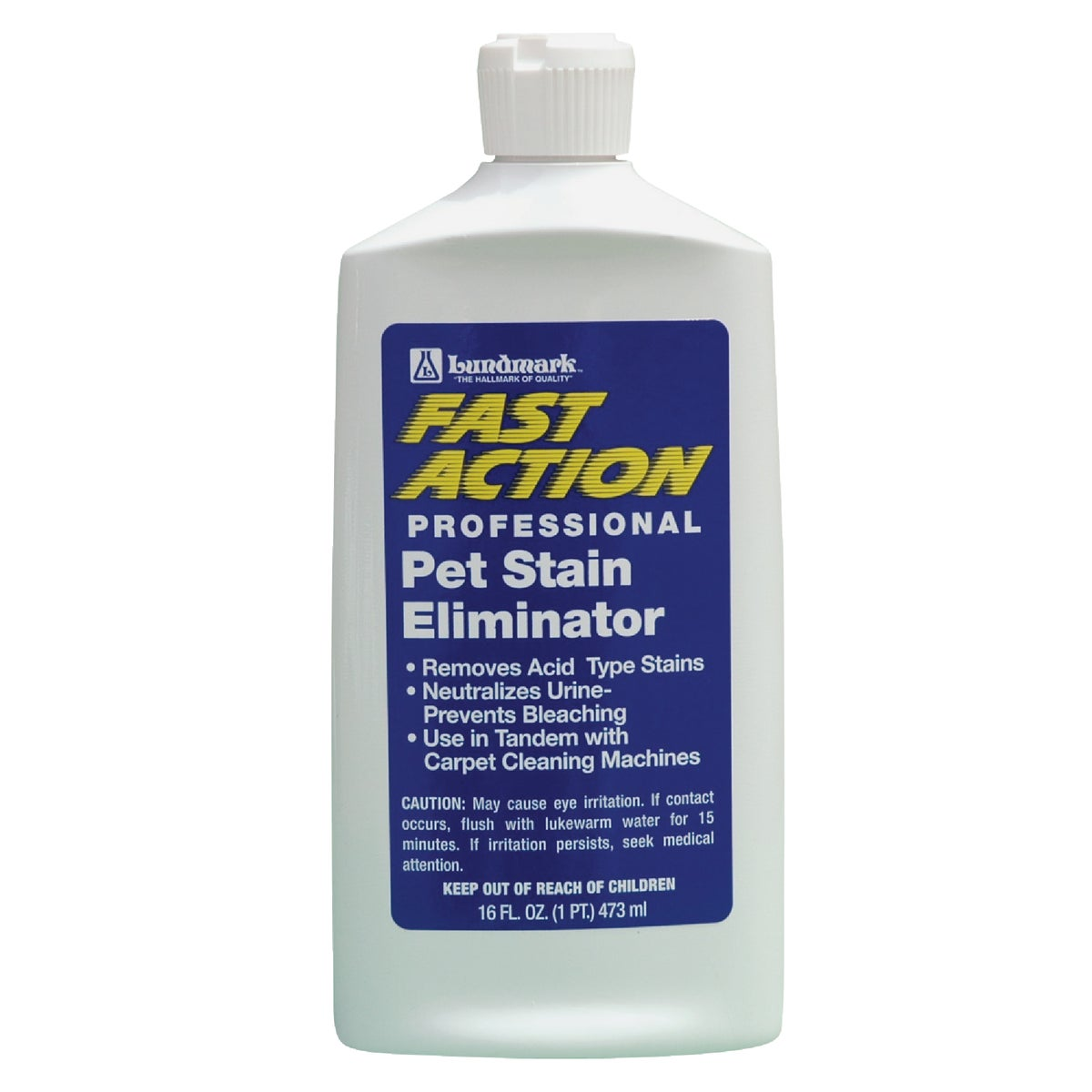 16OZ PET STAIN REMOVER - 6240F-16 by Lundmark Wax Co