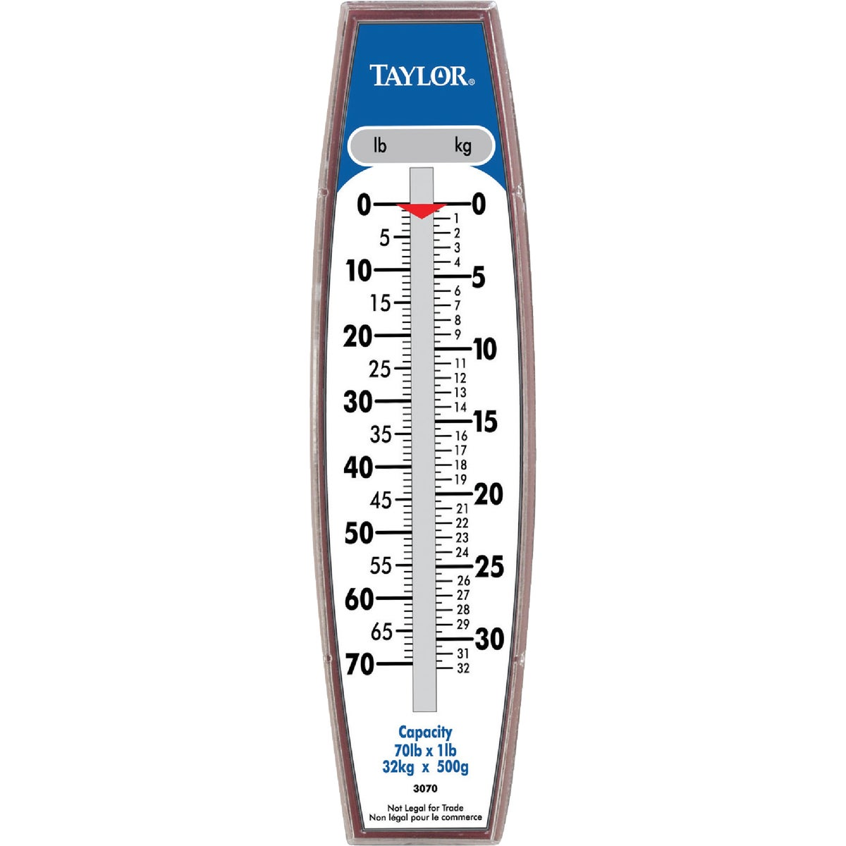 70LB HANGING SCALE - 3070 by Taylor Precision