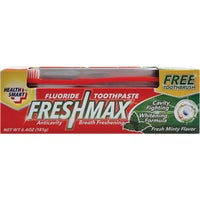 Personal Care Prod 6.4OZ TOOTHPASTE W/BRUSH 90819