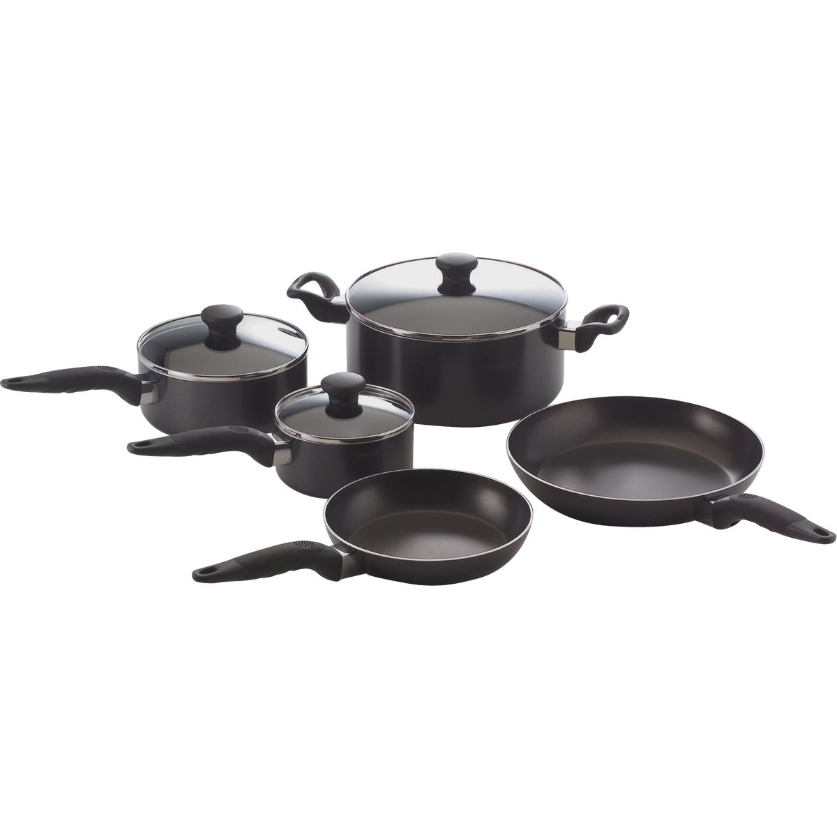 10PC GET A GRIP COOKWARE