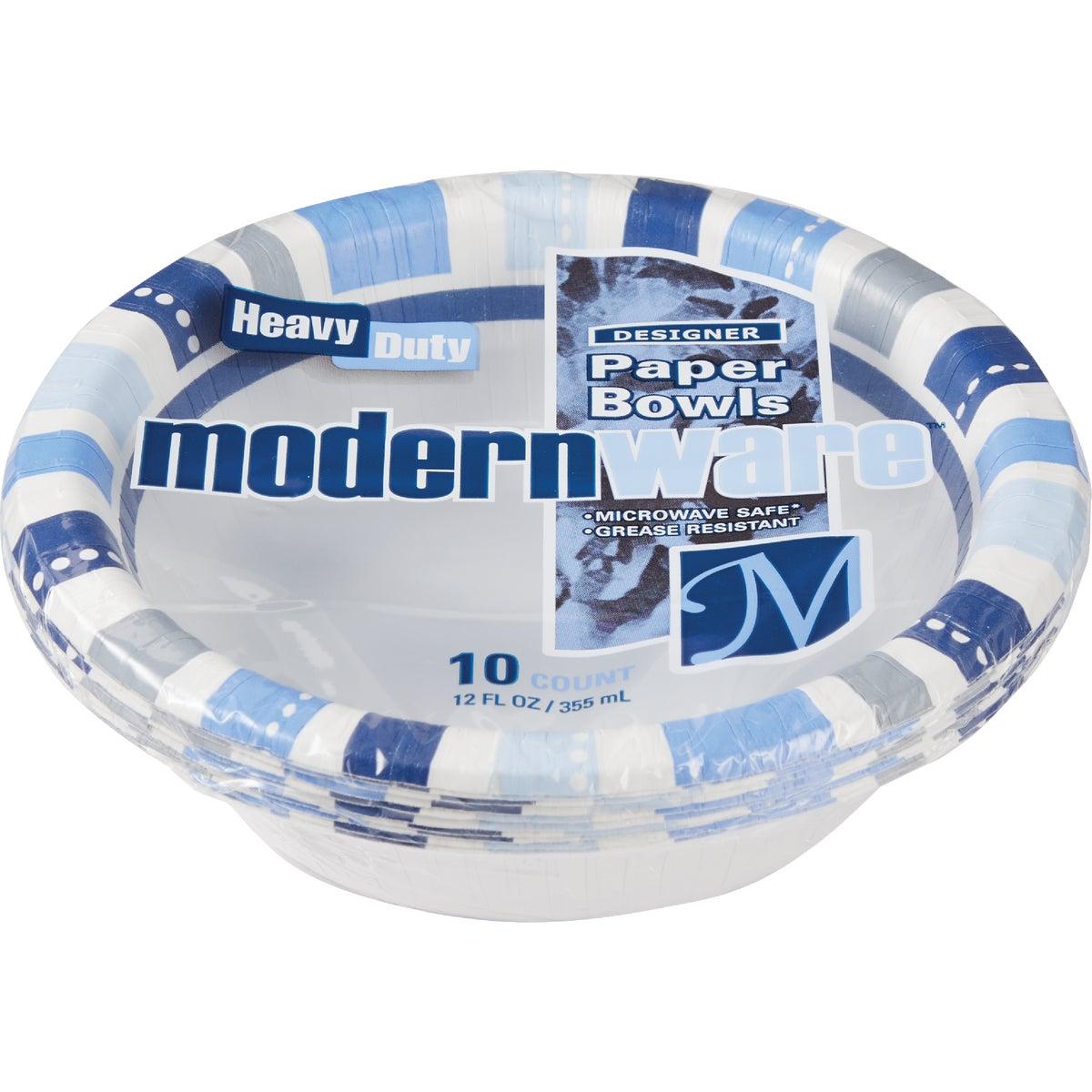 12CT 12OZ PAPER BOWL - DB6MWCEGI by A J M Packaging Corp