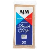 A J M Packaging Corp. 50CT PAPER LUNCH BAG LB24LAJ