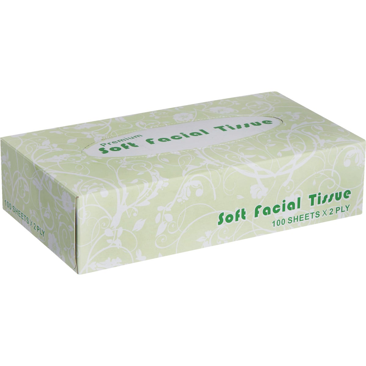 100CT WIND FACIAL TISSUE