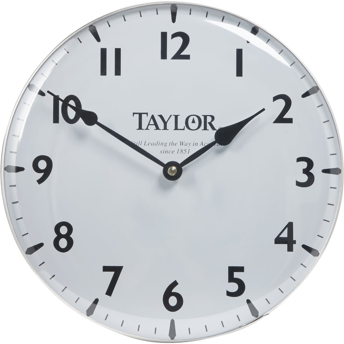 "12"" POOL/PATIO CLOCK - 166 by Taylor Precision"