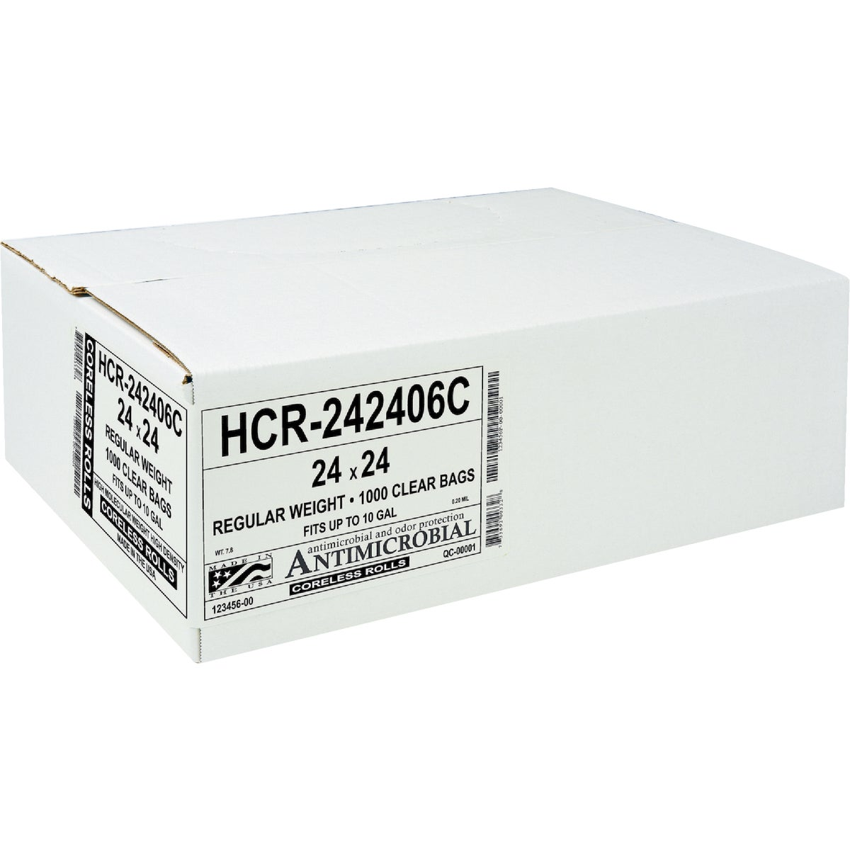 1000CT 24X24 CAN LINER - HC-242406C by Aluf Plastics Incom