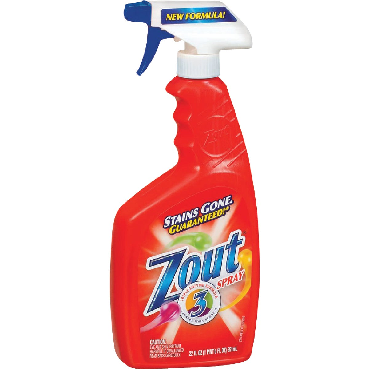 22OZ ZOUT STAIN REMOVER - 37813 by Lagassesweet  Incom