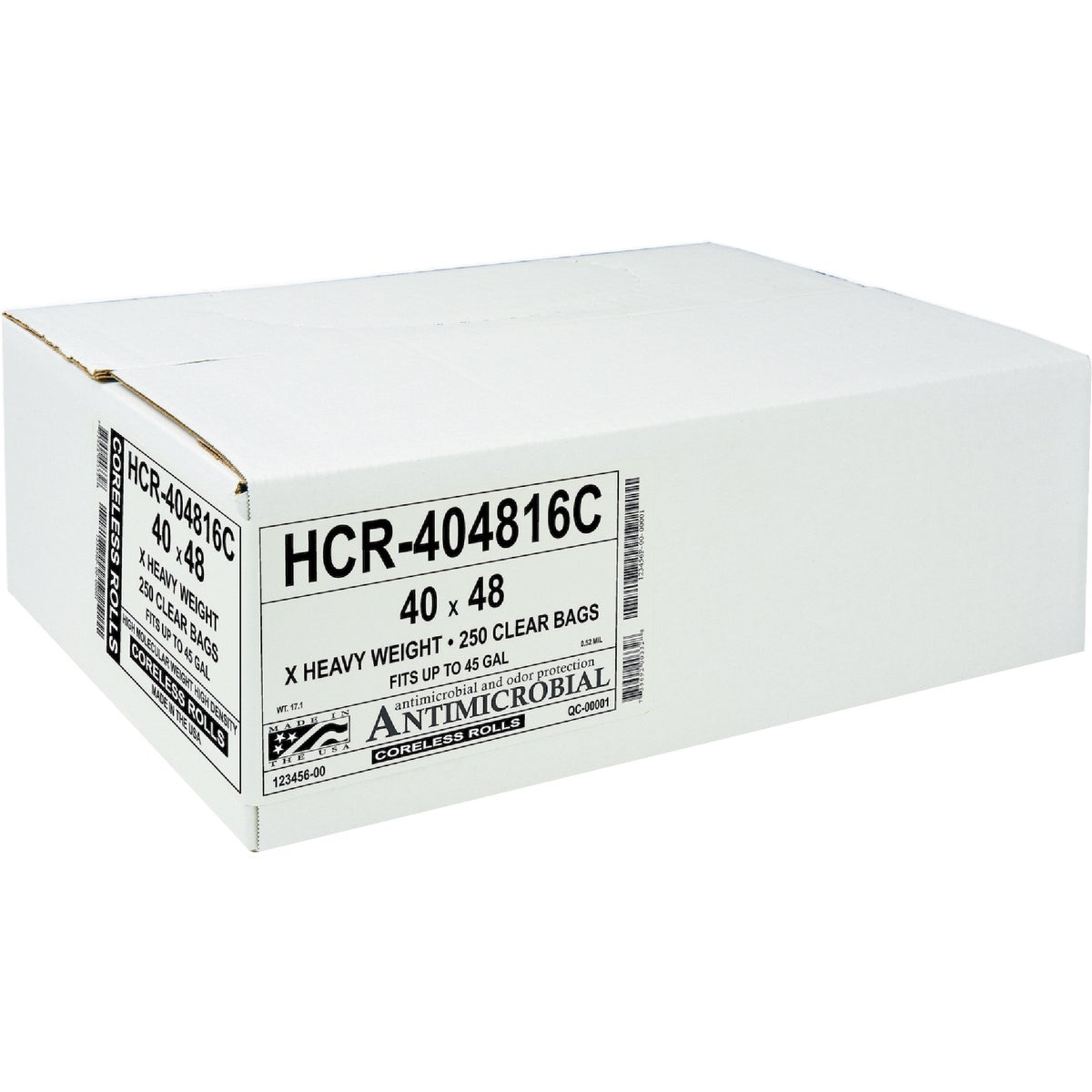 250CT 40X48 CAN LINER - HC-404816C by Aluf Plastics Incom
