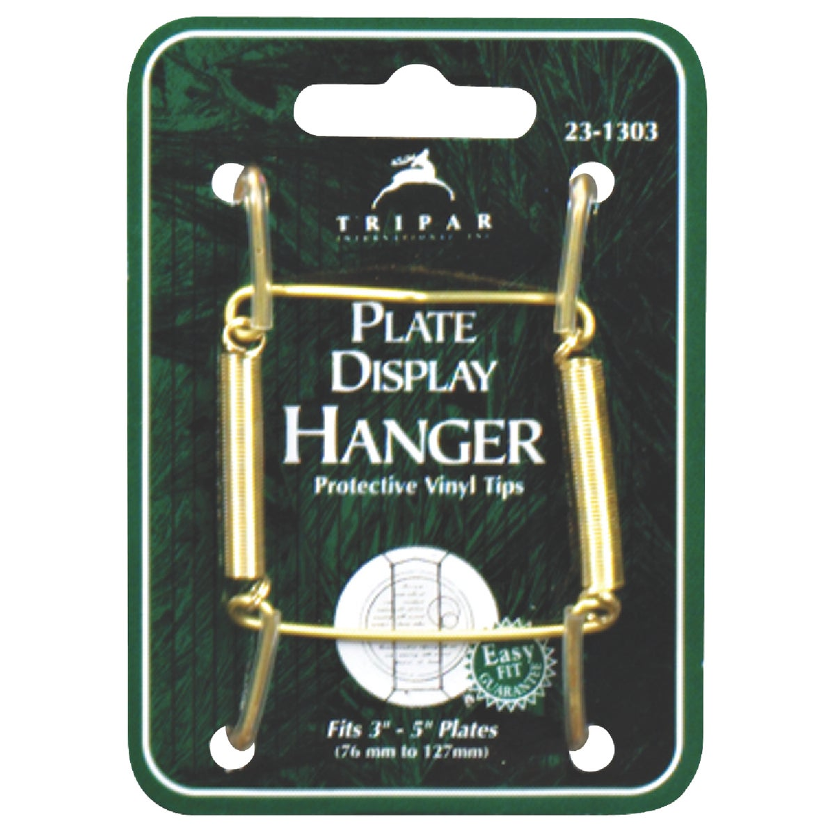 3-5 BRASS WIRE HANGER - 23-1303 by Tripar Intl