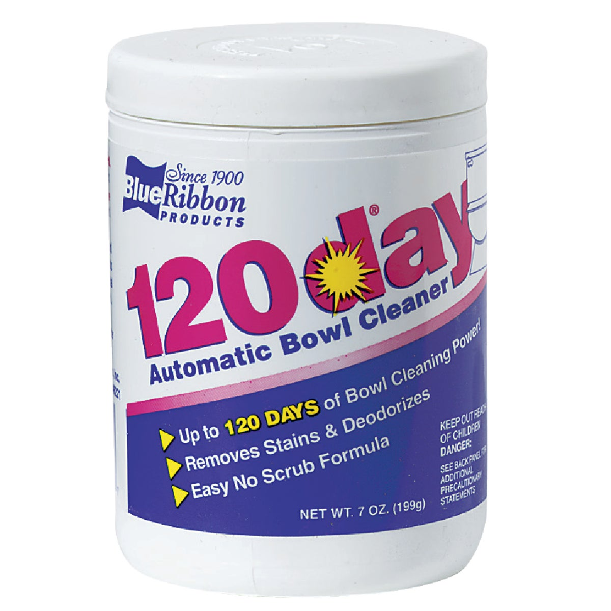 120DAY 7OZ BOWL CLEANER - 03001 by Blue Ribbon Prods