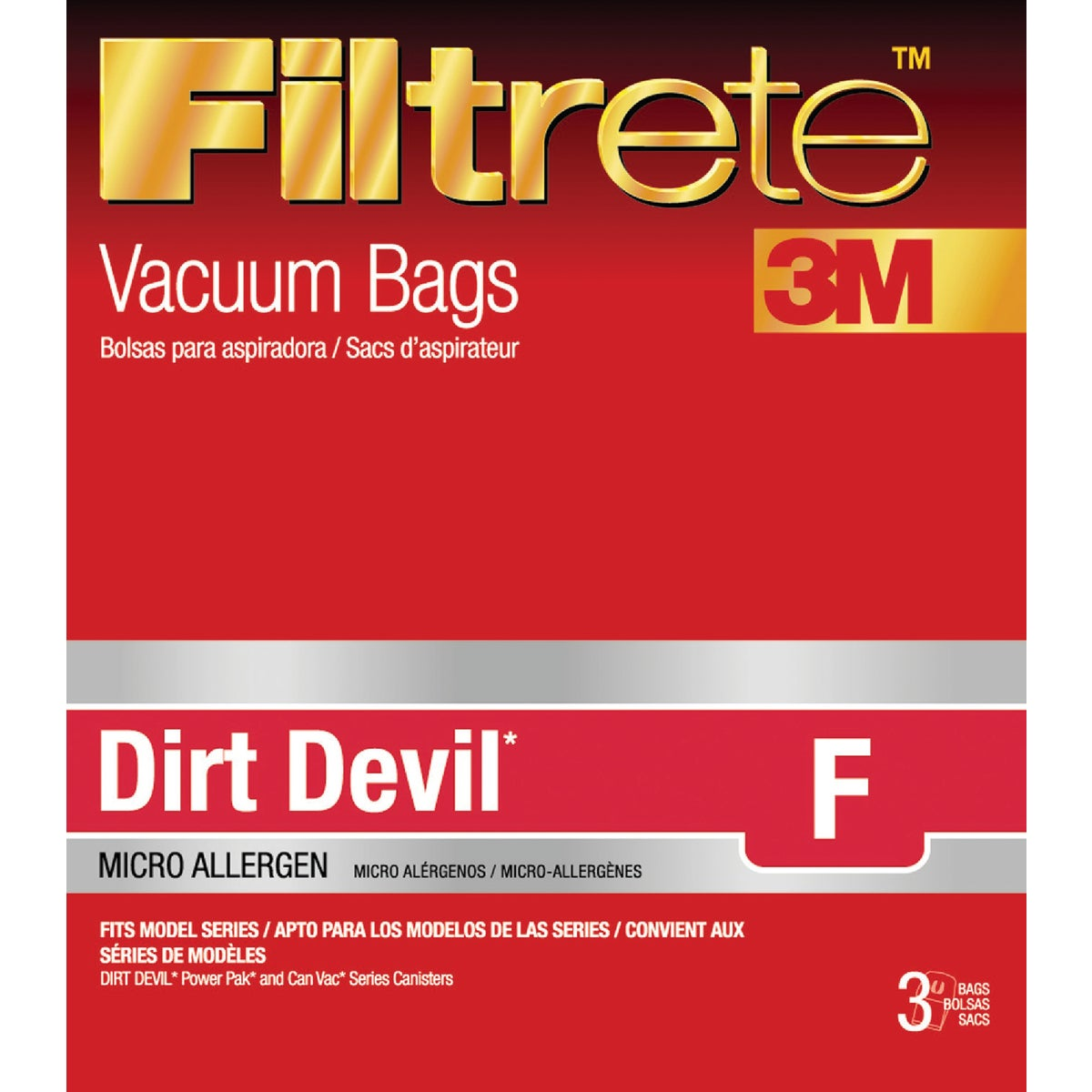 DIRT DEVIL F VACUUM BAG - 65702-6 by Electrolux Home Care