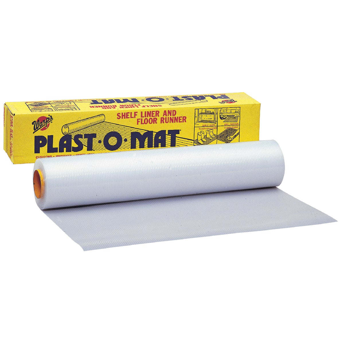 30X50' CLEAR PLASTIC MAT - PM50 by Warp Bros