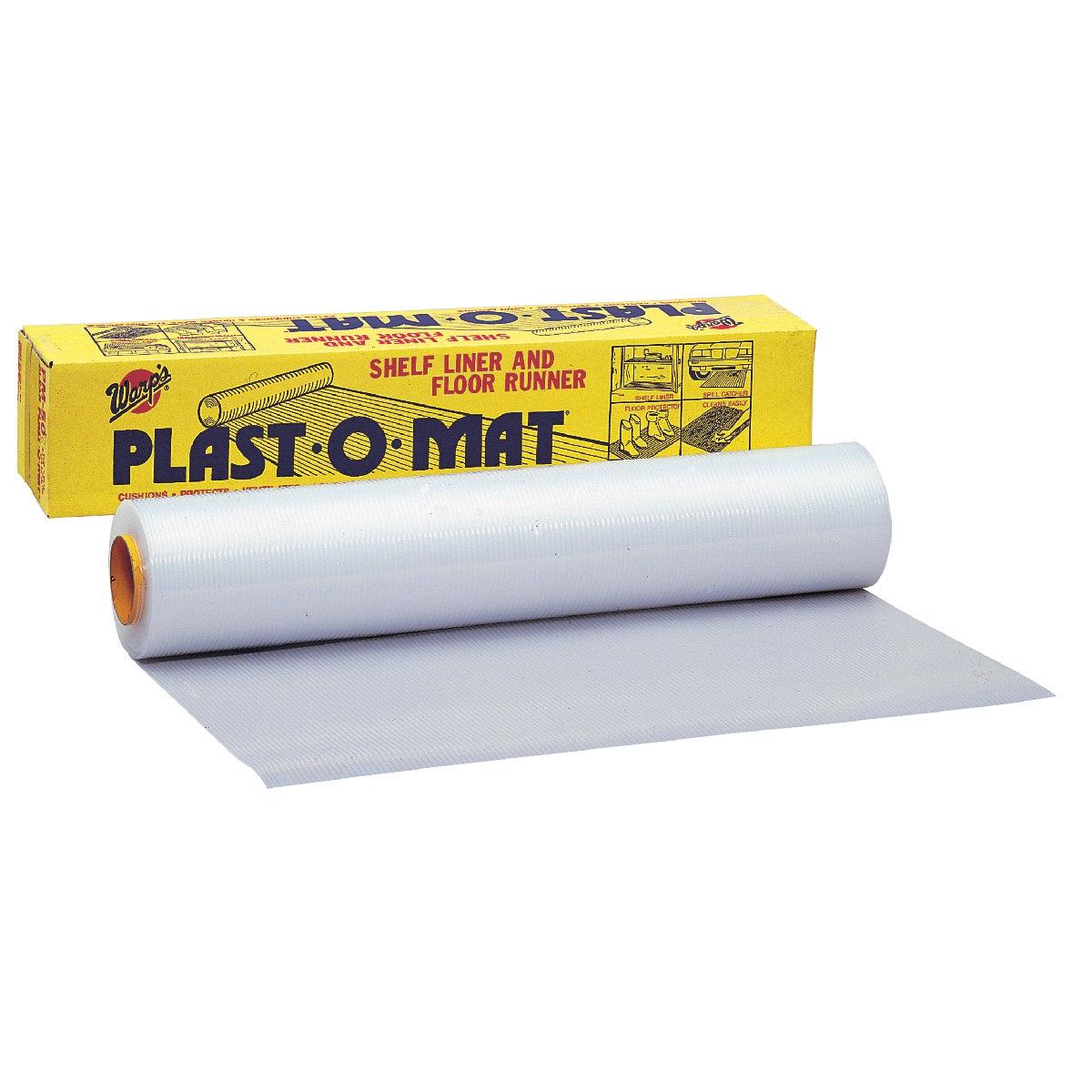 Plast-O-Mat Ribbed Floor Runner Carpet Protector