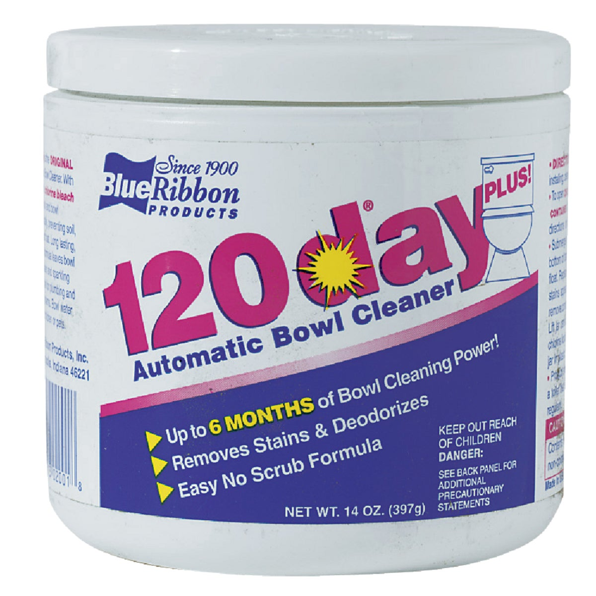 120DAY 14OZ BOWL CLEANER - 02001 by Blue Ribbon Prods