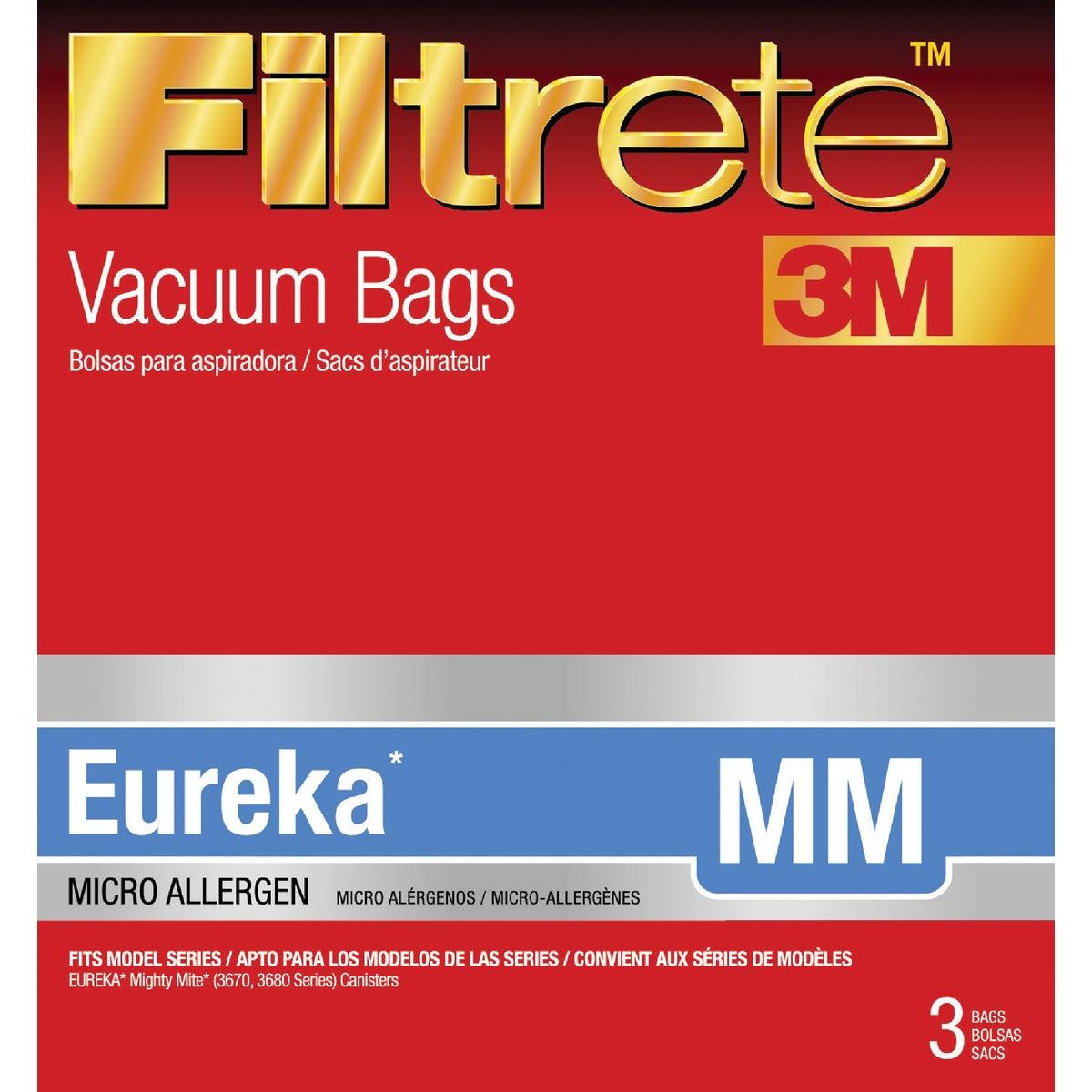 3M Filtrete Eureka Type MM Micro Allergen Vacuum Bag (3-Pack)