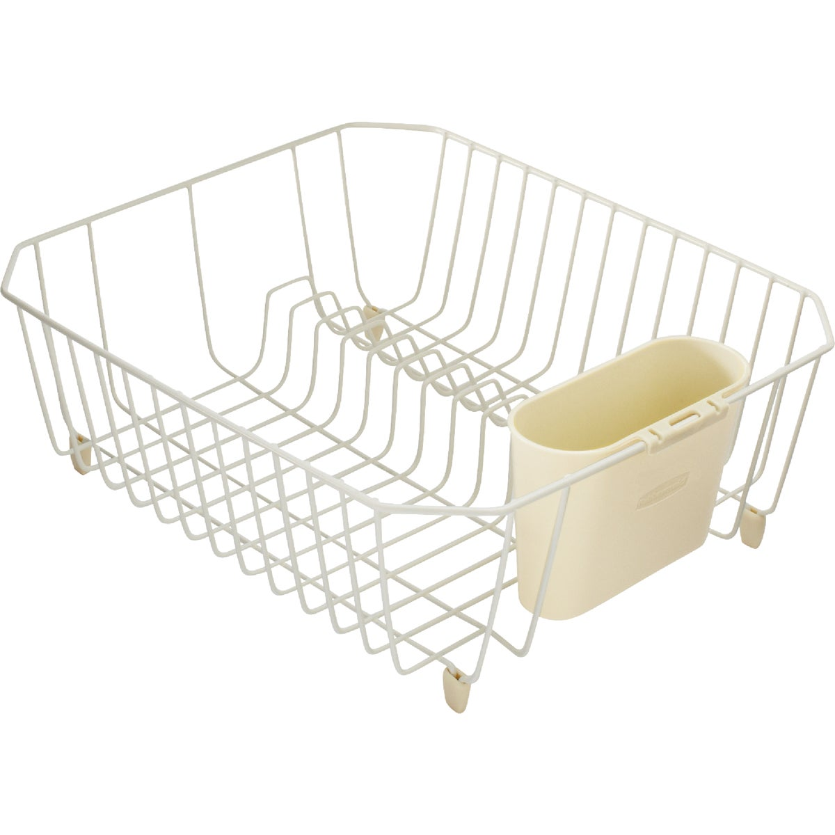 BISQUE TWIN DISH DRAINER - 6008-AR-BISQU by Rubbermaid Home