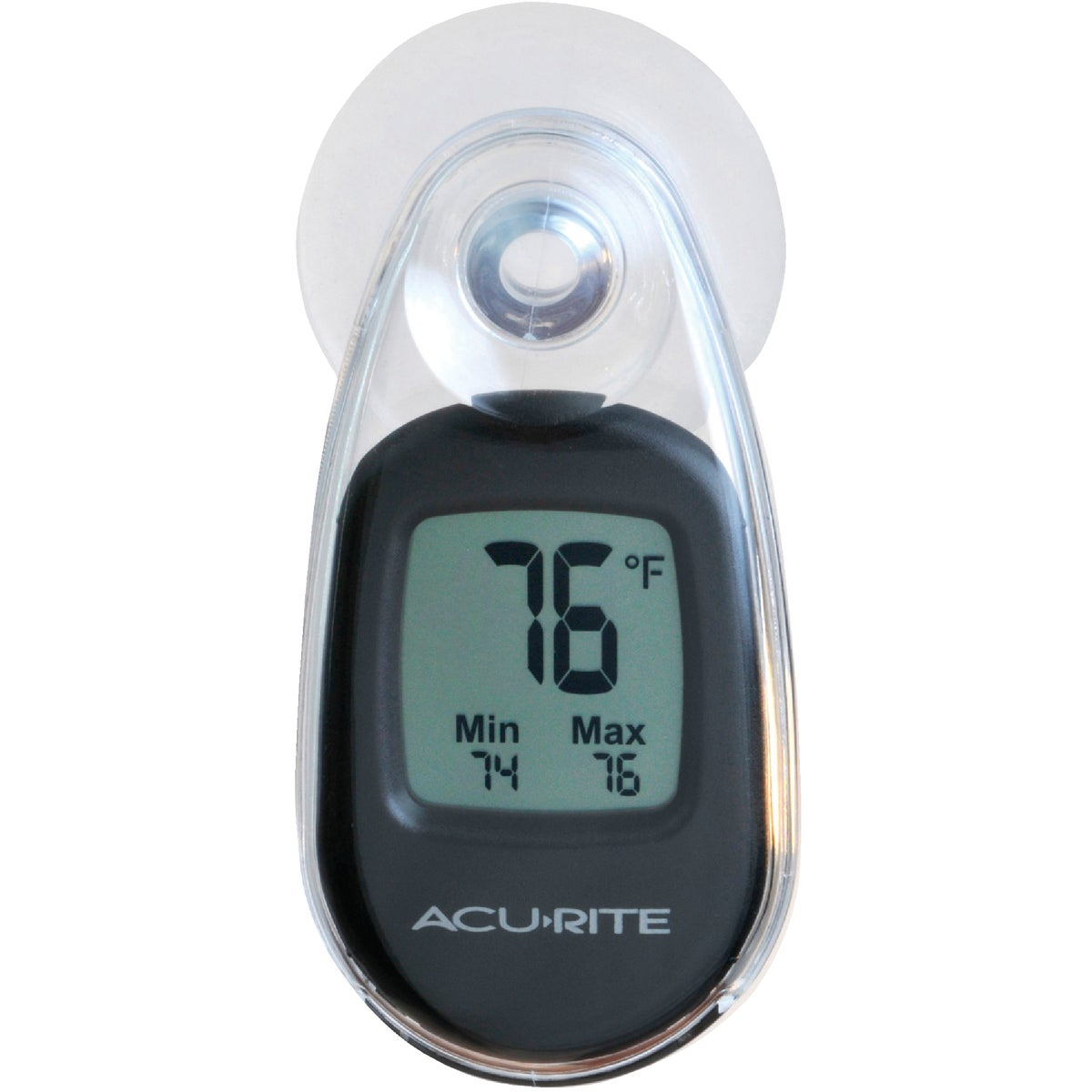 SUCTION CUP THERMOMETER