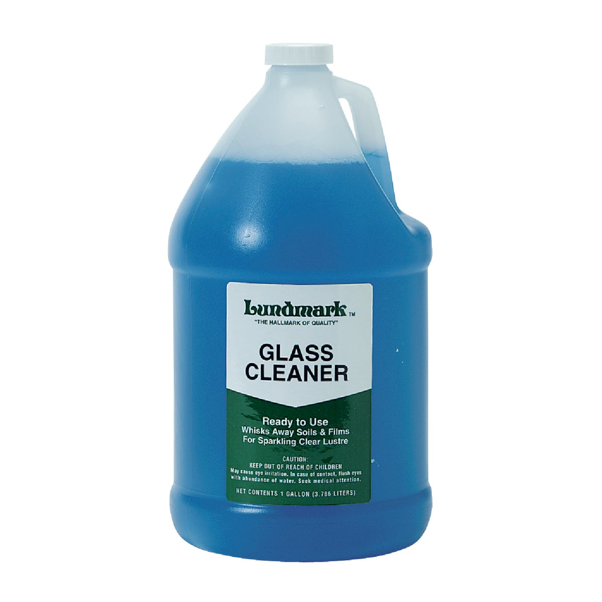 GALLON GLASS CLEANER - 3444G01-4 by Lundmark Wax Co