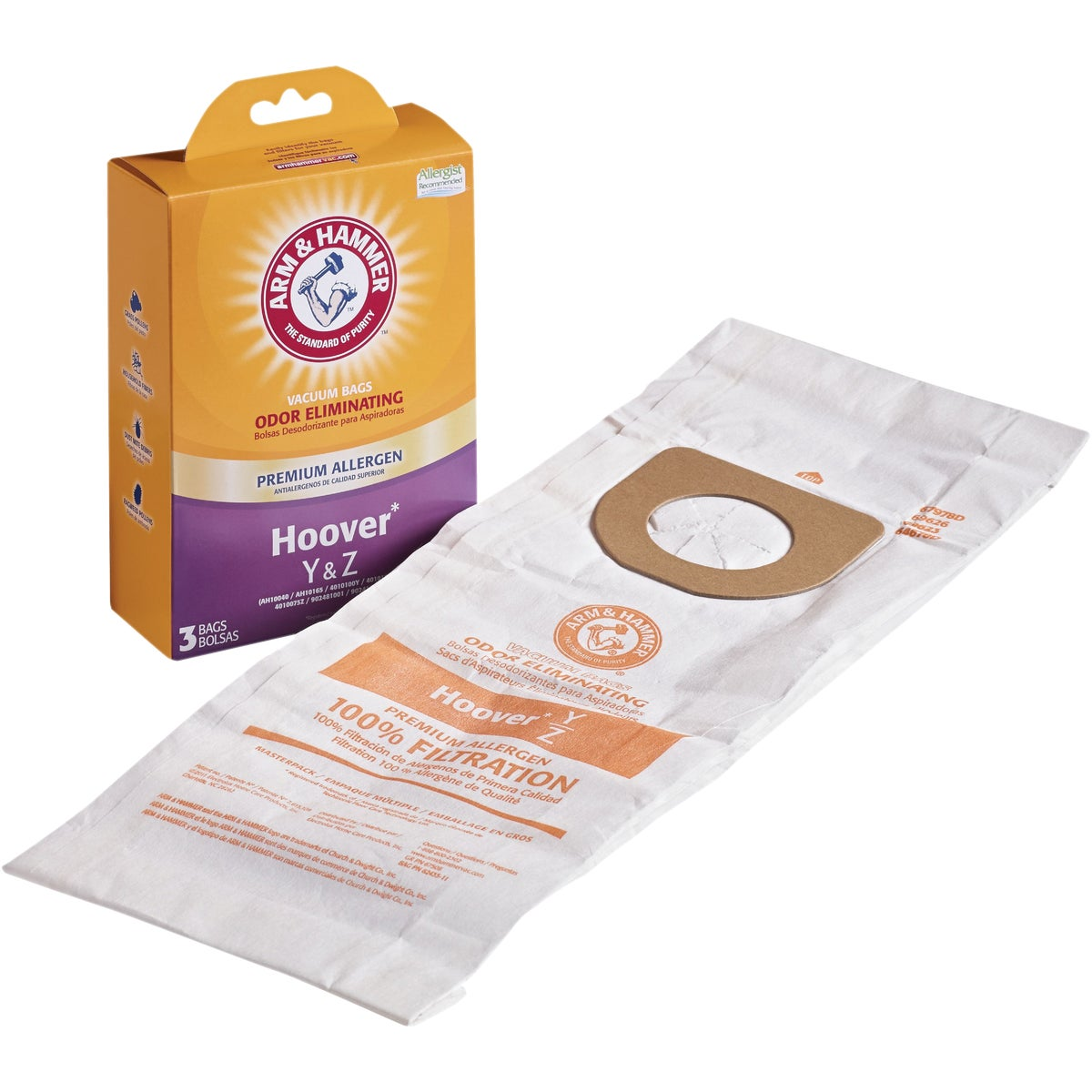 Y & Z VACUUM BAG - 64702A-6 by Electrolux Home Care