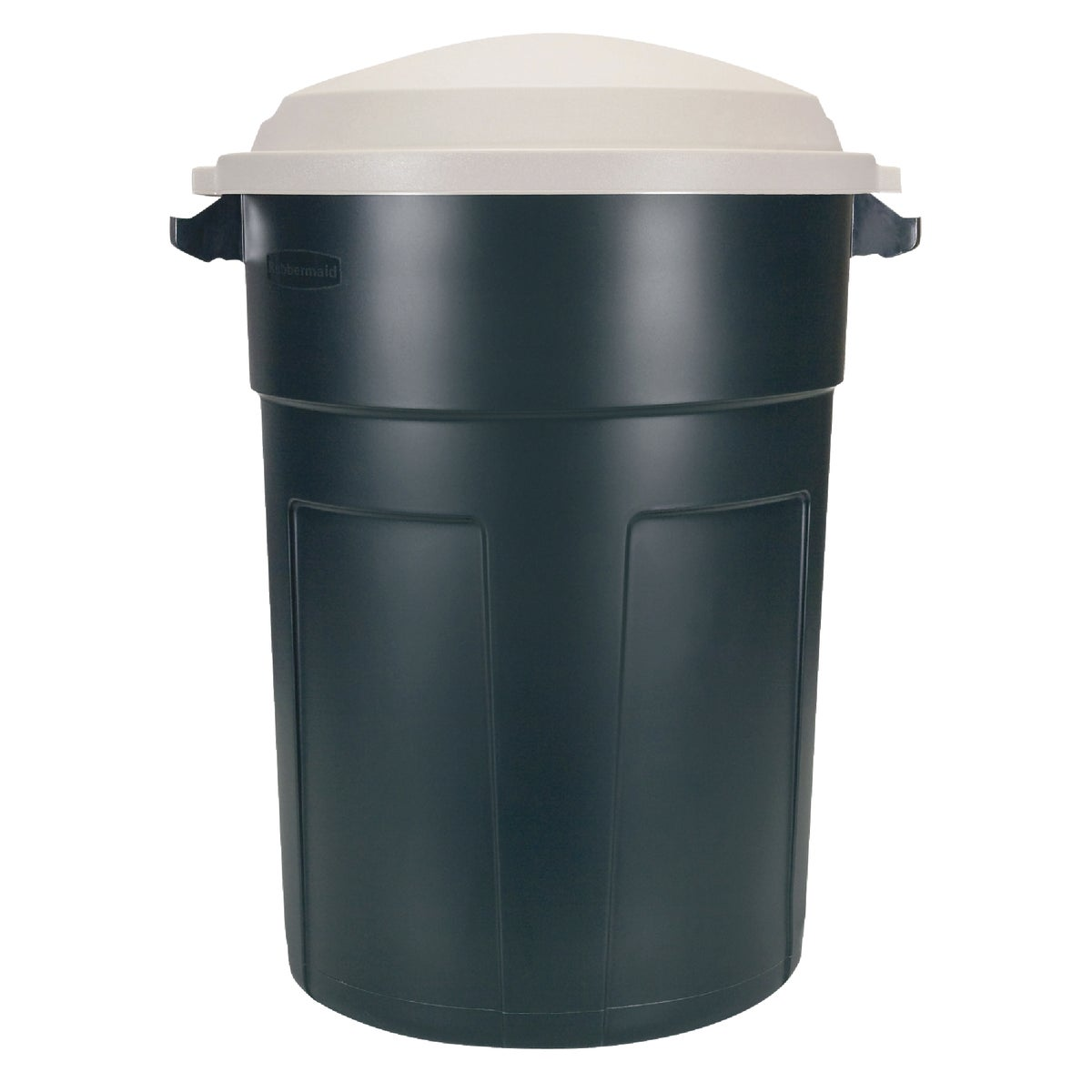 32GAL GREEN TRASH CAN
